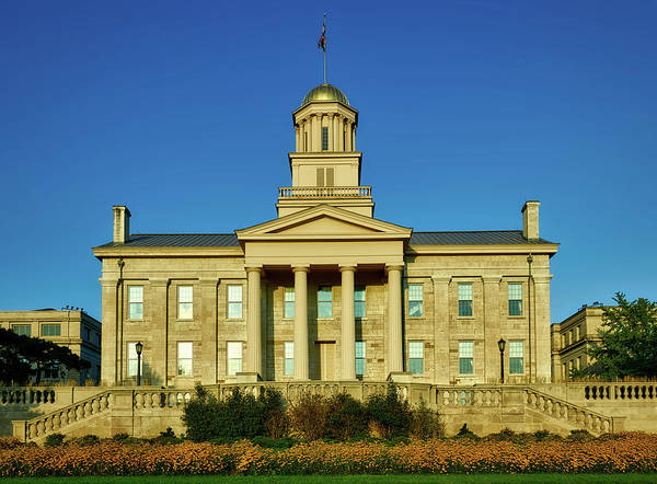 Wall Art - Photograph - The Old Stone Capitol - Iowa City by Mountain Dreams