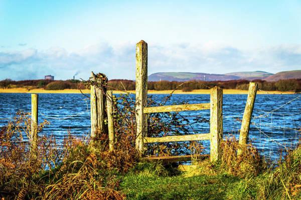 Stye Photograph - The Old Stye Crossing At Kenfig Pool In Wales by Stephen Jenkins