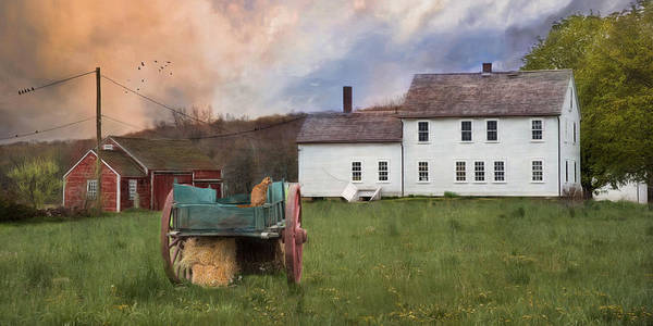 Photograph - The Old Wagon by Robin-Lee Vieira
