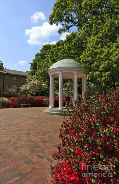 Photograph - The Old Well At Chapel Hill In The Spring by Jill Lang