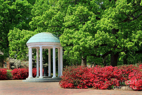 Photograph - The Old Well On Unc Chapel Hill Campus by Jill Lang