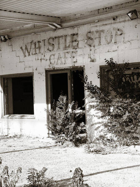 Photograph - The Old Whistle Stop Cafe by Marilyn Hunt