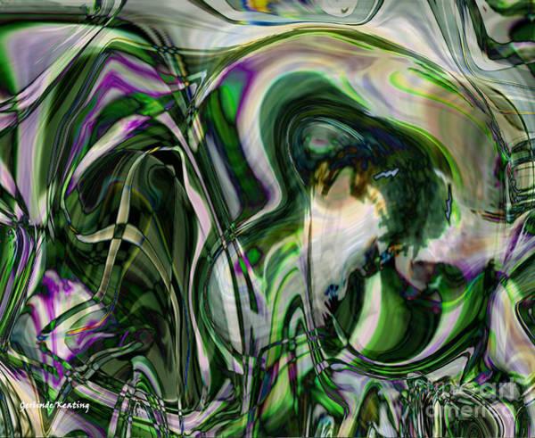 Digital Art - The Old Wizard by Gerlinde Keating - Galleria GK Keating Associates Inc