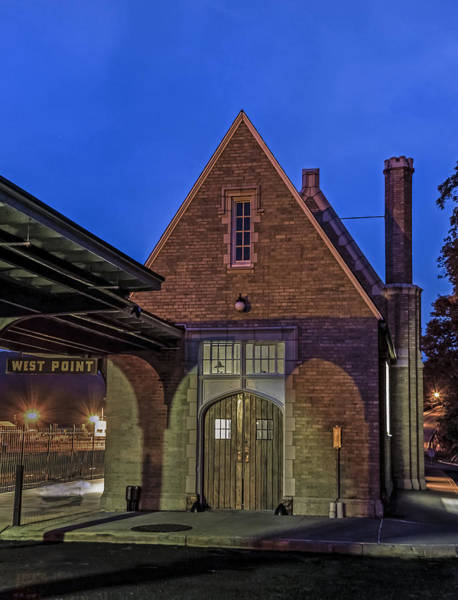 Photograph - The Ole Train Station At West Point by Jerry Gammon