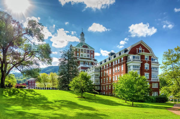 Photograph - The Omni Homestead Resort by Greg Reed