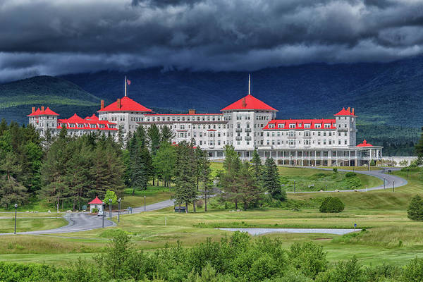 Photograph - The Omni Mount Washington Resort 3 by Brian MacLean