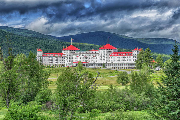 Photograph - The Omni Mount Washington Resort 4 by Brian MacLean
