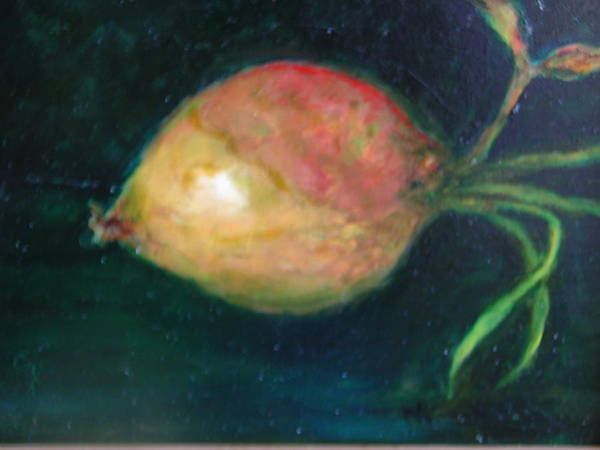 Wall Art - Painting - The Onion by Michael L Brown