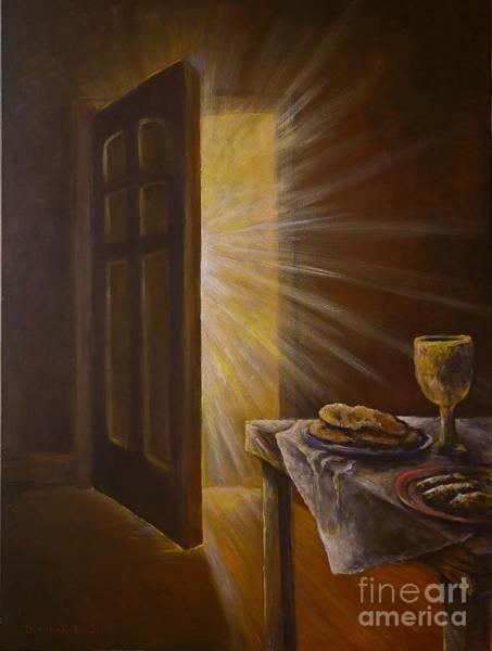 Emanate Painting - The Open Door by Deborah Smith