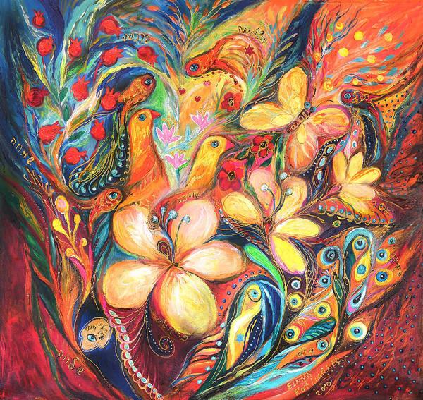 Wall Art - Painting - The Orange Wind by Elena Kotliarker