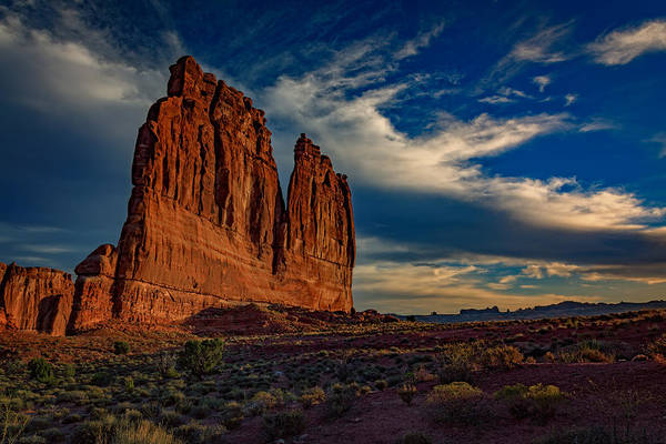 Delicate Arch Wall Art - Photograph - The Organ by Rick Berk