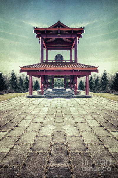 Pagoda Photograph - The Oriental Touch by Evelina Kremsdorf