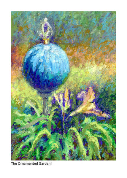 Painting - The Ornamented Garden I by Betsy Derrick