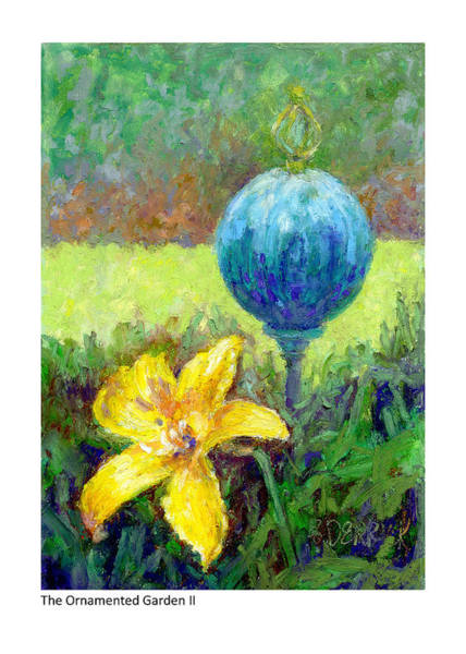 Painting - The Ornamented Garden II by Betsy Derrick