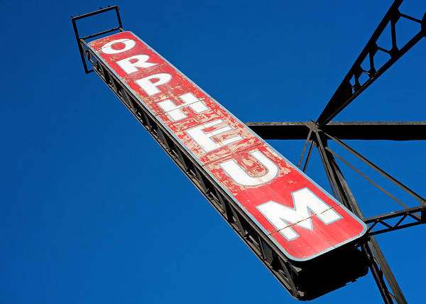 Photograph - The Orpheum by Todd Klassy