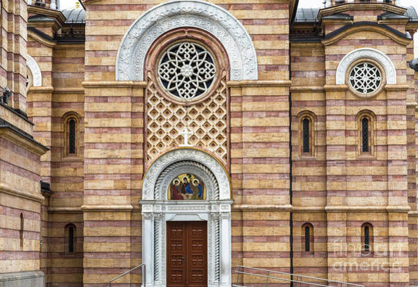 Photograph - The Orthodox Christ The Savior Cathedra In Banja Luka by Didier Marti