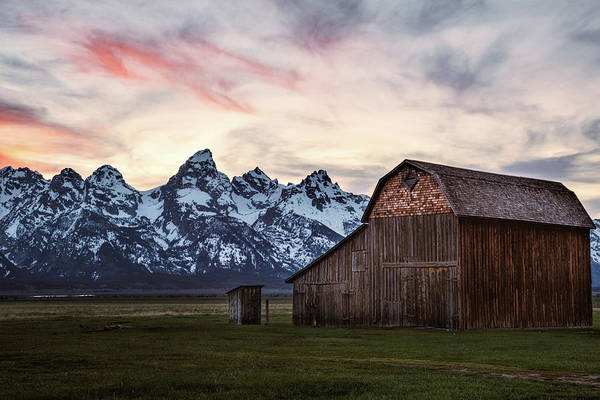 Photograph - The Other Moulton Barn by Laura Roberts