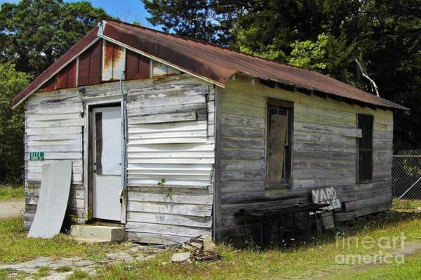 Photograph - The Other Side Of This Old House by D Hackett