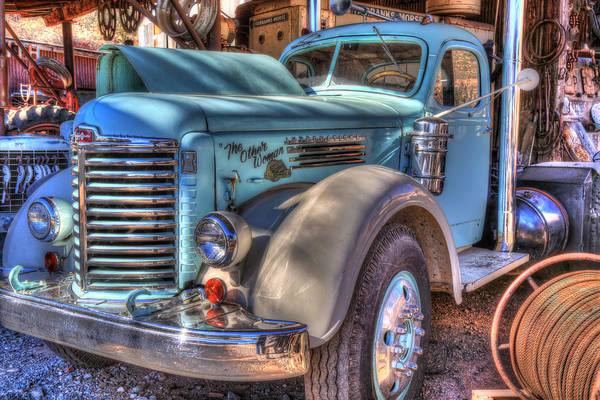 Semi Truck Photograph - The Other Woman by Donna Kennedy