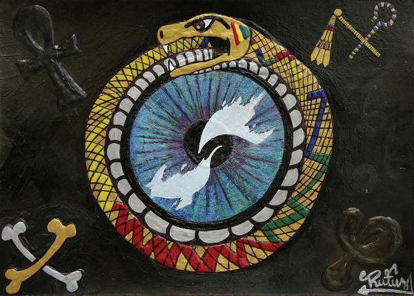 The Ouroboros Art Print