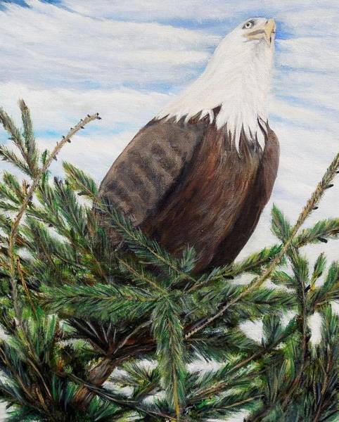 Painting - The Oversee'er by Marilyn  McNish