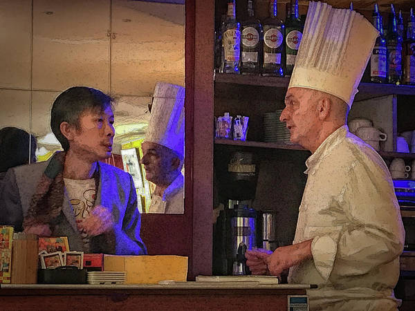 Photograph - The Owner And The Cook by Jessica Levant