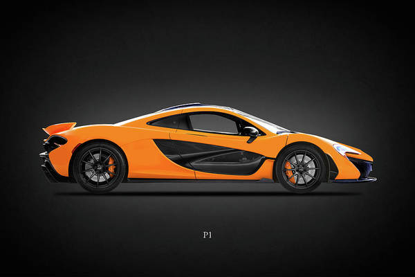 Wall Art - Photograph - The P1 Supercar by Mark Rogan