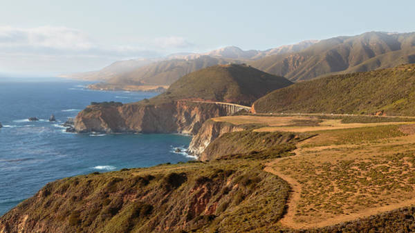 Photograph - The Pacific Coast Highway by Susan Rissi Tregoning