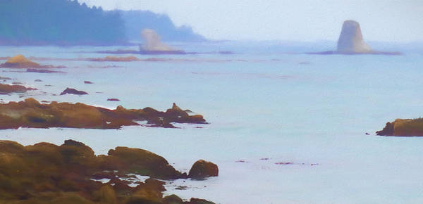 Painting - The Pacific Coast Washington by Dan Sproul