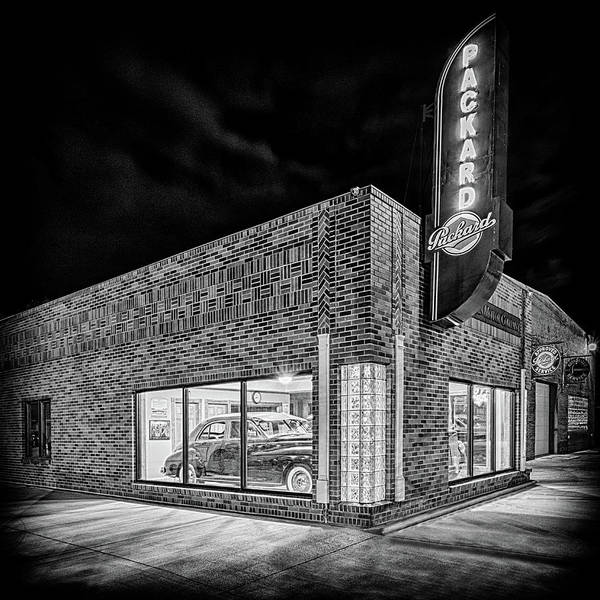 Photograph - The Packard Dealer #3 by Susan Rissi Tregoning