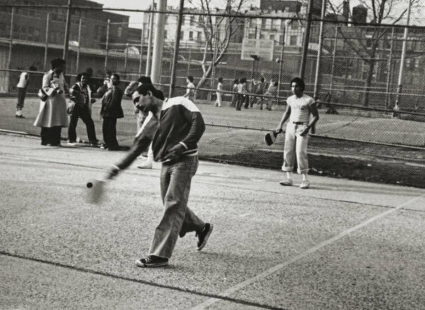Photograph - The Paddleball Players by Reynaldo Williams