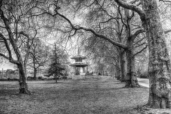 Wall Art - Photograph - The Pagoda Battersea Park London by David Pyatt