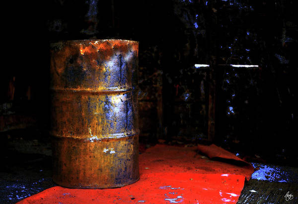 Photograph - The Painted Barrel by Wayne King