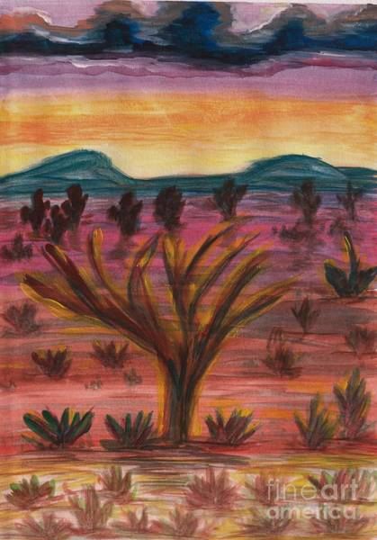 Master Piece Painting - The Painting Desert - 2 by Lynn Michelle