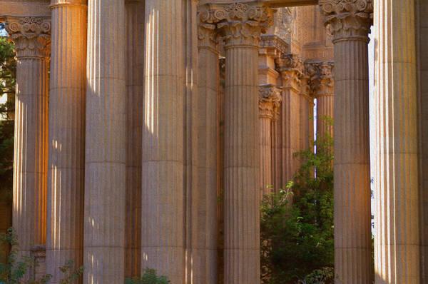 Photograph - The Palace Columns by Bonnie Follett