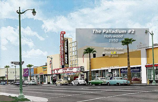 Wall Art - Painting - The Palladium Number2 by Melvin Hale ArtistLA