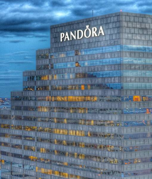 Photograph - The Pandora Building In Baltimore, Maryland by Marianna Mills