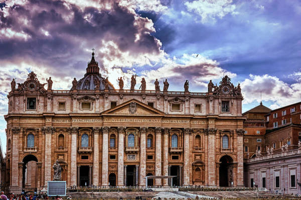 Photograph - The Papal Basilica Of Saint Peter by Fine Art Photography Prints By Eduardo Accorinti