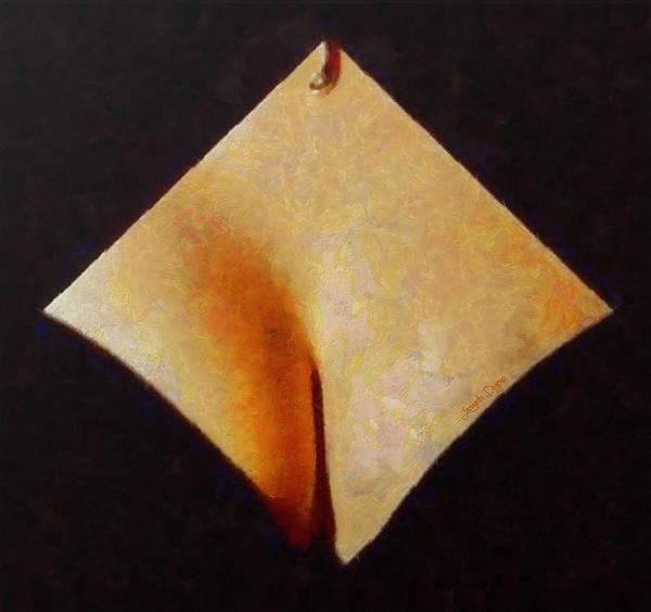 Xxx Painting - The Paper - Pa by Leonardo Digenio