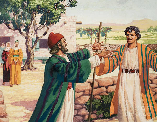 Painting - The Parable Of The Prodigal Son by Pat Nicolle