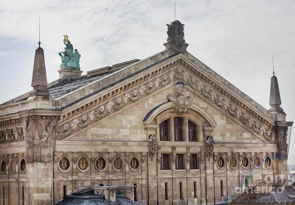 Galeries Lafayette Photograph - The Paris Opera Art by Alex Art and Photo