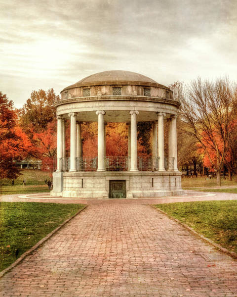 Photograph - The Parkman Bandstand - Boston Common by Joann Vitali