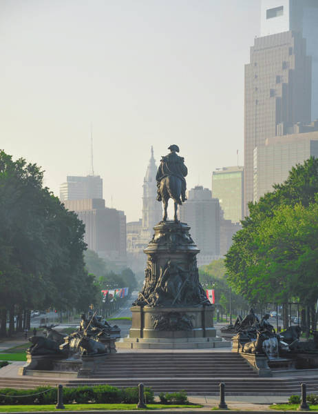 Wall Art - Photograph - The Parkway - Philadelphia Pa by Bill Cannon