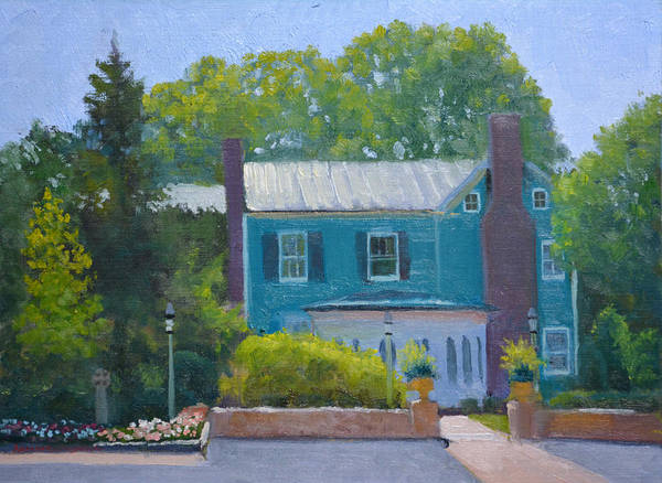 Inn Wall Art - Painting - The Parsonage by Armand Cabrera