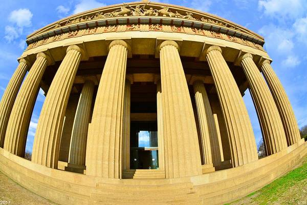 Photograph - The Parthenon In Nashville Tennessee 3 by Lisa Wooten