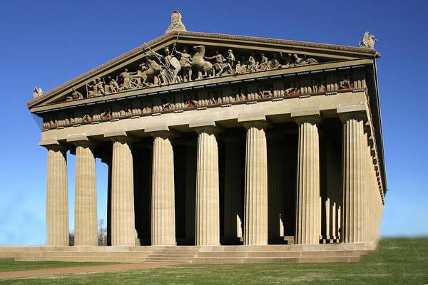 Photograph - The Parthenon-nashville Tn by Ericamaxine Price