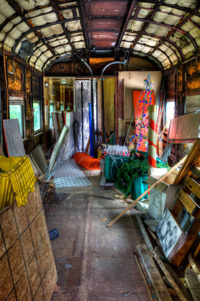 Photograph - The Party Is Over In The Rail Car by David Patterson