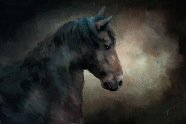 Painting - The Paso Fino 2 Horse Art by Jai Johnson