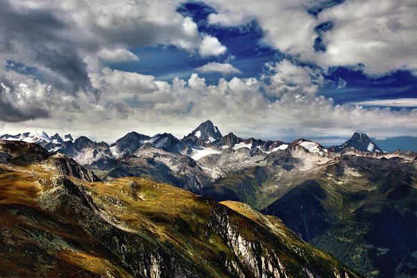 Moberly Photograph - The Pass, Switzerland. by Guy Moberly