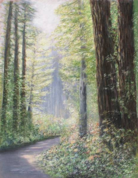 Summoning Painting - The Path by Patricia Filyaw